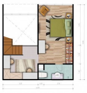 Loft A Upper Floor