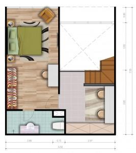 Loft C Upper Floor