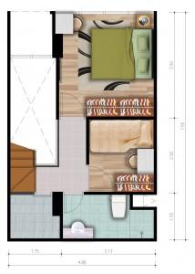 Loft E Upper Floor