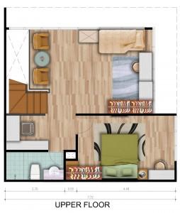 Loft F Upper Floor